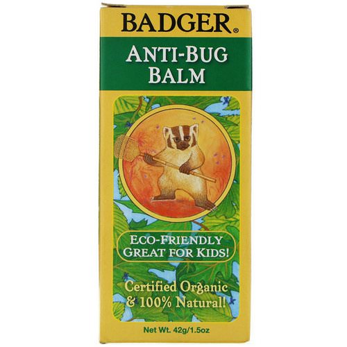 Badger Company, Organic Anti-Bug Balm, 1.5 oz (42 g) Review