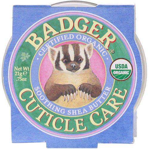 Badger Company, Organic Cuticle Care, Soothing Shea Butter, .75 oz (21 g) Review
