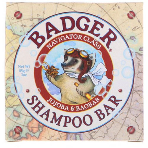 Badger Company, Shampoo Bar, Jojoba & Baobab, 3 oz (85 g) Review