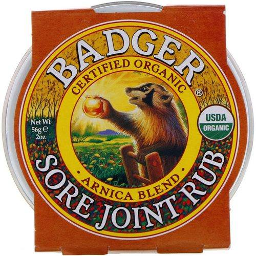 Badger Company, Sore Joint Rub, Arnica Blend, 2 oz (56 g) Review