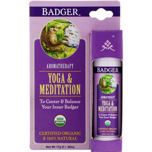 Badger Company, Yoga & Meditation, Cedarwood & Mandarin, .60 oz (17 g) Review
