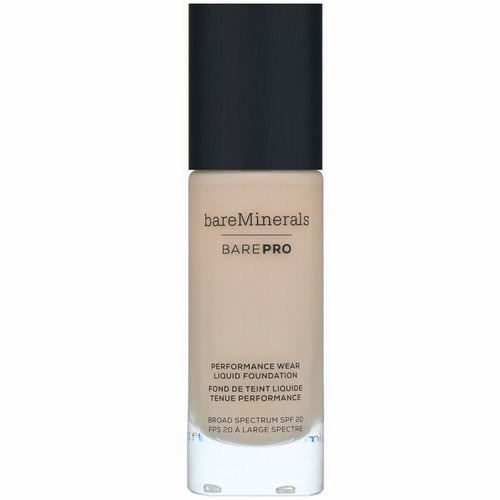 Bare Minerals, BAREPRO, Performance Wear, Liquid Foundation, SPF 20, Light Natural 09, 1 fl oz (30 ml) Review