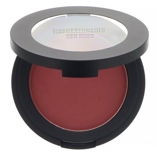 Bare Minerals, Gen Nude Powder Blush, You Had Me At Merlot, 0.21 oz (6 g) Review