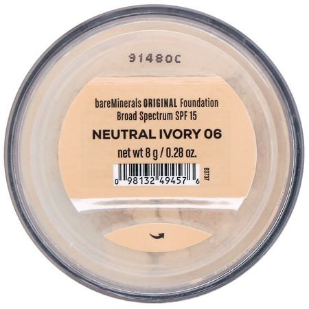 Bare Minerals Foundation Spf 15 Neutral