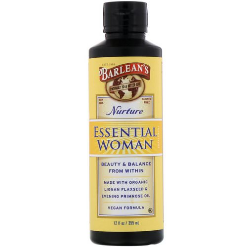 Barlean's, Essential Woman, Nurture, 12 fl oz (355 ml) Review