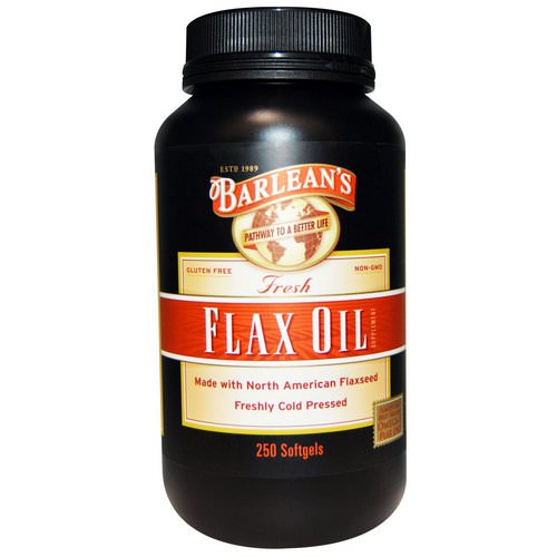 Barlean's, Fresh Flax Oil, 250 Softgels Review