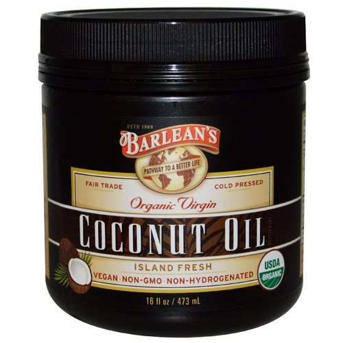 Barlean's, Organic Virgin Coconut Oil, 16 fl oz (473 ml) Review