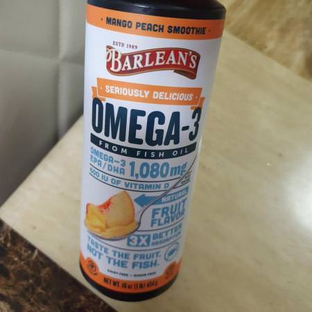 Barlean's, Omega-3 Fish Oil