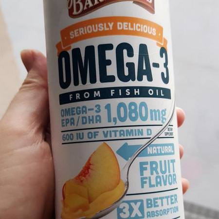 Seriously Delicious, Omega-3 Fish Oil, Mango Peach Smoothie