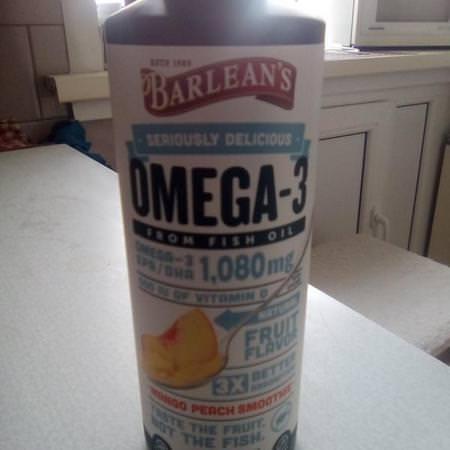 Barlean's Supplements Fish Oil Omegas EPA DHA
