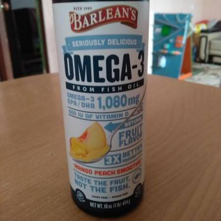 Supplements Fish Oil Omegas EPA DHA Omega-3 Fish Oil Barlean's