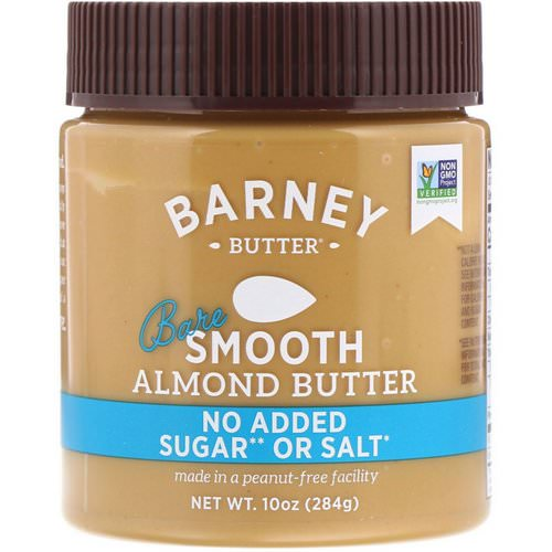 Barney Butter, Almond Butter, Bare Smooth, 10 oz (284 g) Review