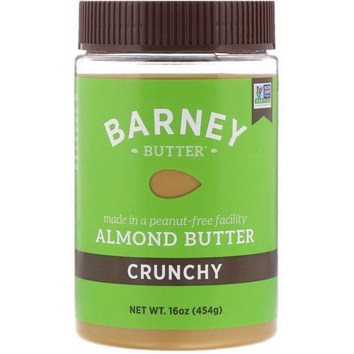 Barney Butter, Almond Butter, Crunchy, 16 oz (454 g) Review