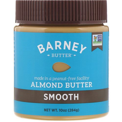 Barney Butter, Almond Butter, Smooth, 10 oz (284 g) Review
