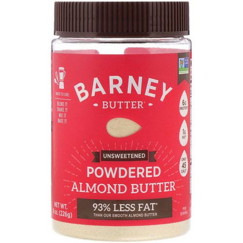Barney Butter, Powdered Almond Butter, Unsweetened, 8 oz (226 g) Review