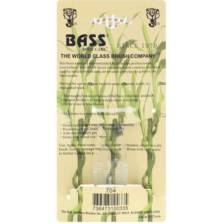 Bass Brushes, Cleansing Tools