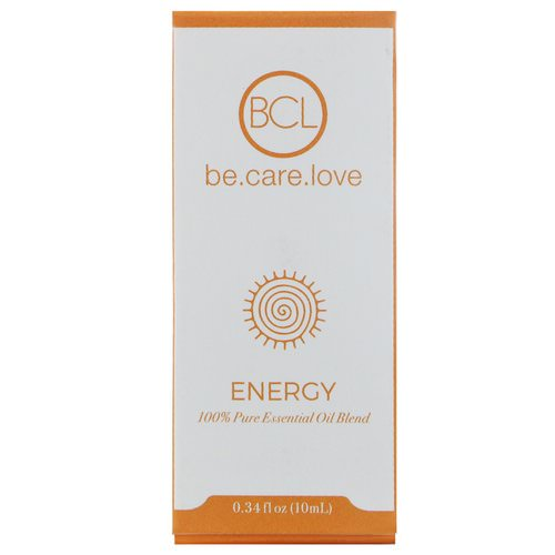 BCL, Be Care Love, 100% Pure Essential Oil Blend, Energy, 0.34 fl oz (10 ml) Review