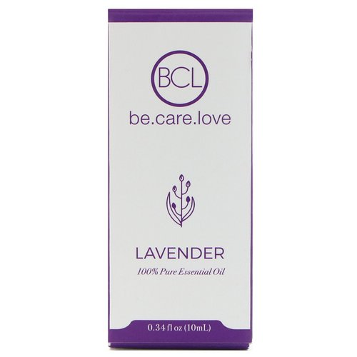 BCL, Be Care Love, 100% Pure Essential Oil, Lavender, 0.34 fl oz (10 ml) Review