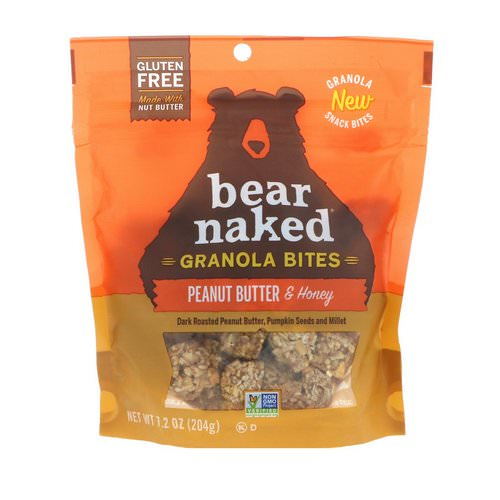 Bear Naked, Granola Bites, Peanut Butter & Honey, 7.2 oz (204 g) Review