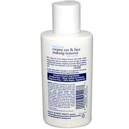 Beauty Without Cruelty Makeup Remover