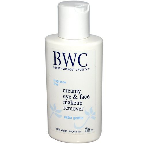 Beauty Without Cruelty, Creamy Eye & Face Makeup Remover, 4 fl oz (118 ml) Review