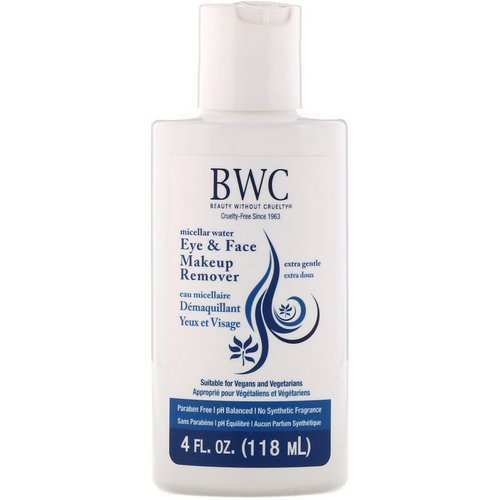 Beauty Without Cruelty, Eye & Face Makeup Remover, Extra Gentle, 4 fl oz (118 ml) Review