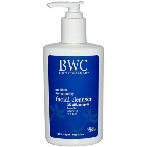 Beauty Without Cruelty, Facial Cleanser, 3% AHA Complex, 8.5 fl oz (250 ml) Review