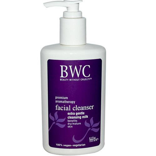 Beauty Without Cruelty, Facial Cleanser, Extra Gentle Cleansing Milk, 8.5 fl oz (250 ml) Review