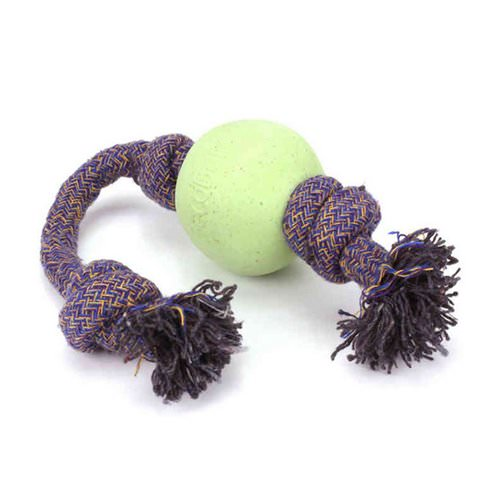 Beco Pets, Eco-Friendly Dog Ball On a Rope, Large, Green, 1 Rope Review