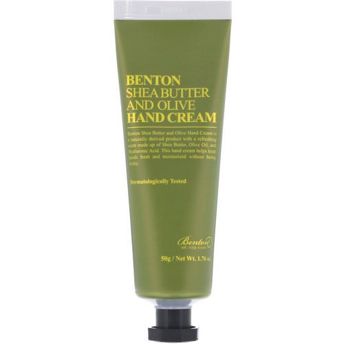 Benton, Shea Butter and Olive Hand Cream, 1.76 oz (50 g) Review