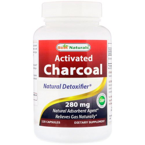 Best Naturals, Activated Charcoal, 280 mg, 120 Capsules Review