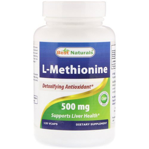Best Naturals, L-Methionine, 500 mg, 120 Vcaps Review