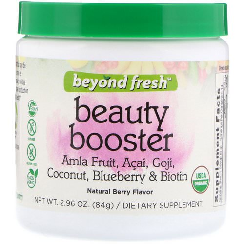 Beyond Fresh, Beauty Booster, Natural Berry Flavor, 2.96 oz (84 g) Review