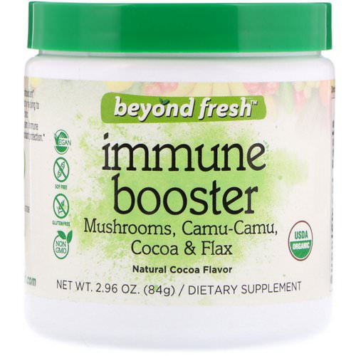Beyond Fresh, Immunity Booster, Natural Cocoa Flavor, 2.96 oz (84 g) Review