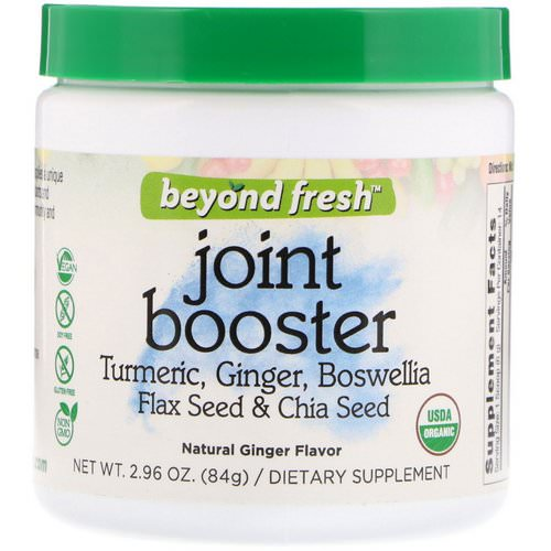 Beyond Fresh, Joint Booster, Natural Ginger Flavor, 2.96 oz (84 g) Review