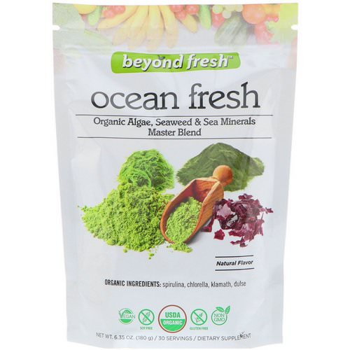 Beyond Fresh, Ocean Fresh, Organic Algae, Seaweed & Sea Minerals Master Blend, Natural Flavor, 6.35 oz (180 g) Review