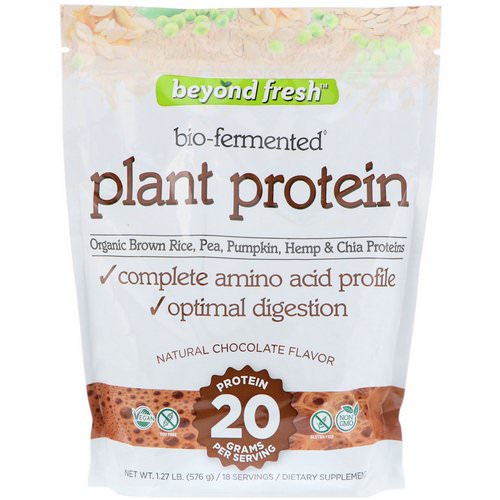 Beyond Fresh, Plant Protein, Natural Chocolate Flavor, 1.27 lb (576 g) Review