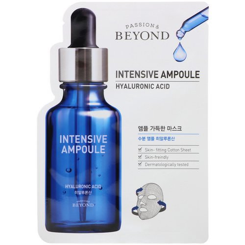Beyond, Intensive Ampoule, Hyaluronic Acid Mask, 1 Mask Review