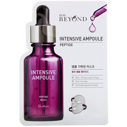 Beyond, Intensive Ampoule, Peptide Mask, 1 Mask Review