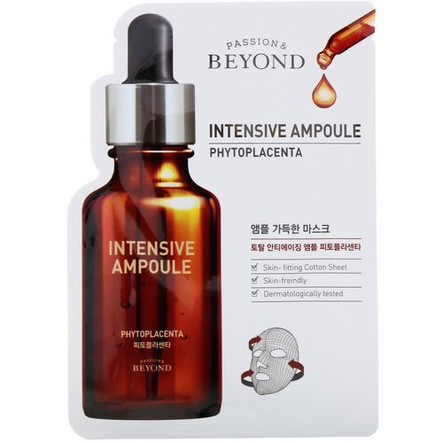 Beyond, Intensive Ampoule, Phytoplacenta Mask, 1 Mask Review