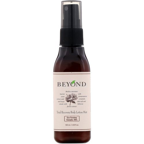 Beyond, Total Recovery Body Lotion Mist, 3.38 fl oz (100 ml) Review