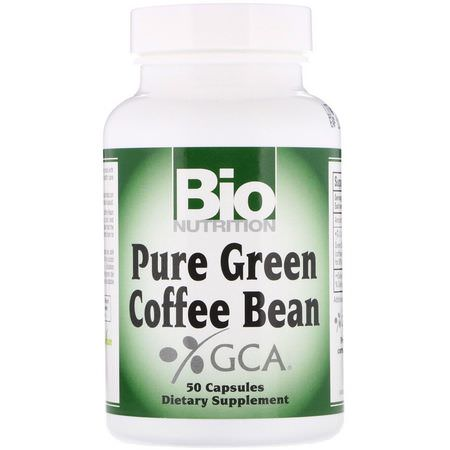 Bio Nutrition Weight Pure Green Coffee Bean