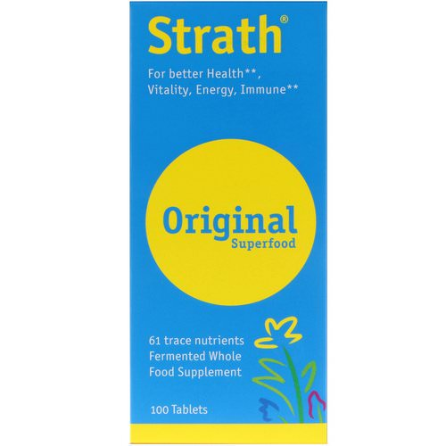 Bio-Strath, Strath, Original Superfood, 100 Tablets Review
