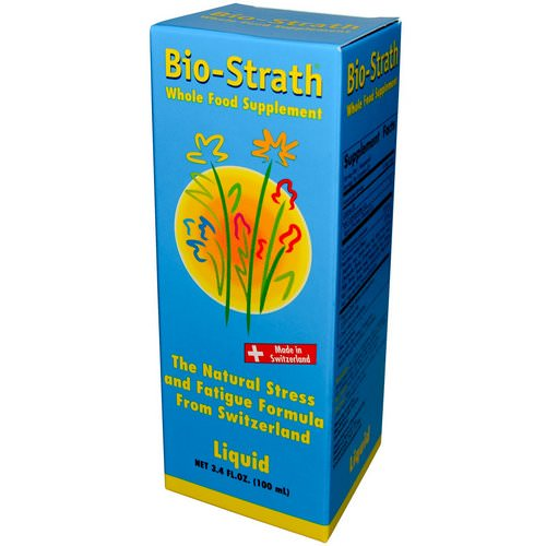Bio-Strath, Whole Food Supplement, Stress & Fatigue Formula, 3.4 fl oz (100 ml) Liquid Review