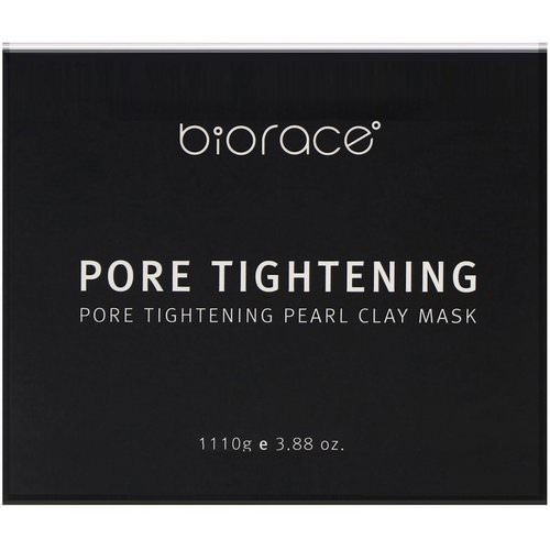 Biorace, Pore Tightening, Pearl Clay Mask, 3.88 oz (110 g) Review