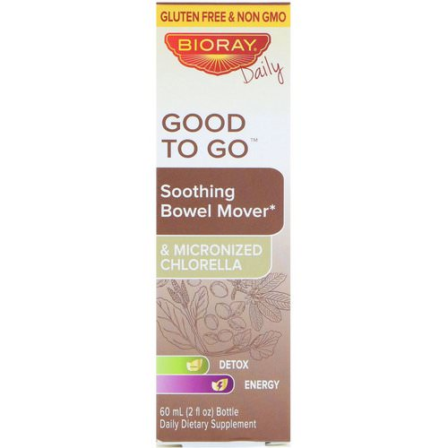 Bioray, Good To Go, Soothing Bowel Mover, 2 fl oz (60 ml) Review