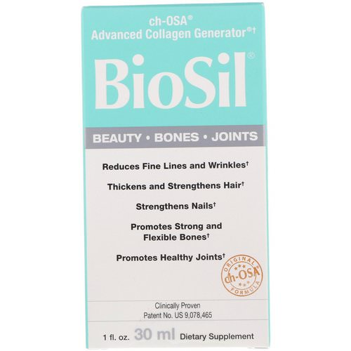 BioSil by Natural Factors, ch-OSA Advanced Collagen Generator, 1 fl oz (30 ml) Review