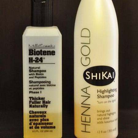 Natural Shampoo with Biotin and Peptides, Phase I