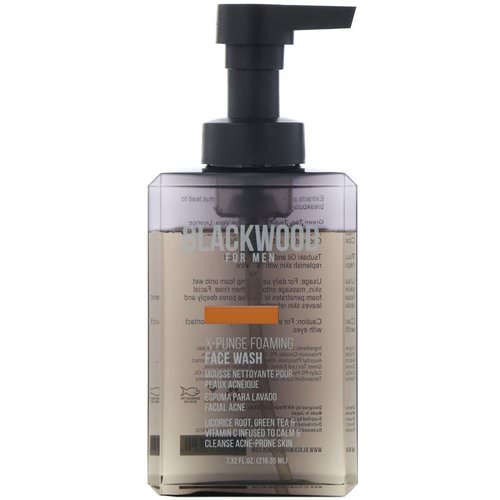 Blackwood For Men, X-Punge, Foaming Face Wash, For Men, 7.32 fl oz (216.35 ml) Review