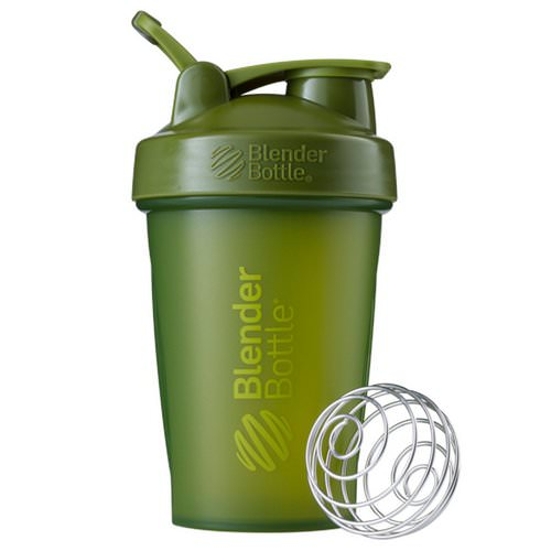Blender Bottle, BlenderBottle, Classic With Loop, Moss Green, 20 oz Review